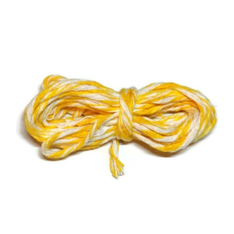 Ficelle emballage blanche jaune 2 5 millim tres baker s for Acheter miroir sur mesure