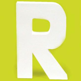 Lettre en carton R