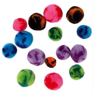 Pompons Candy - 100 pièces