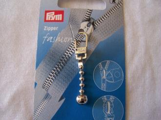 Tirette fashion, chaîne boule métal