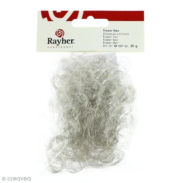 Cheveux d'ange artificiels argent 17 g - Photo n°1
