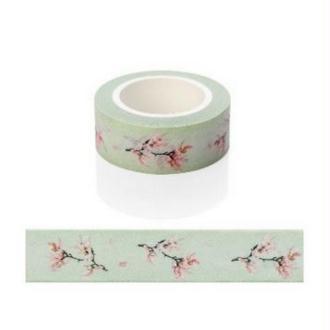 Washi Tape Masking Tape ruban adhésif scrapbooking FLEUR ROSE