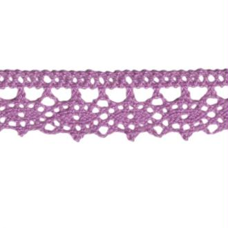 Dentelle fantaisie violet 13mm