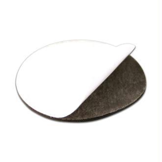 Disque magnétique adhésif diamètre 25 mm - Lot de 5