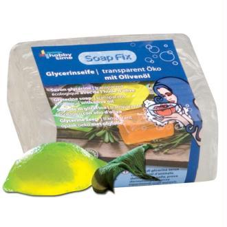 Savon glycérine écologique transparent à l'huile d'olive 500g