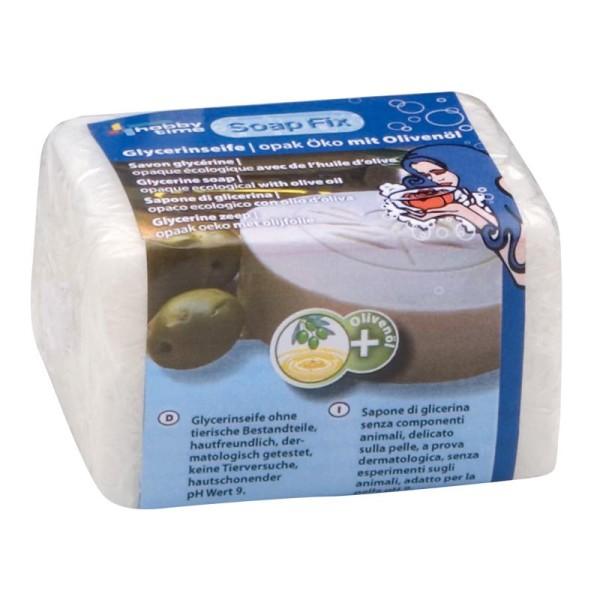 Savon glycérine écologique opaque à l'huile d'olive 250g - Photo n°1