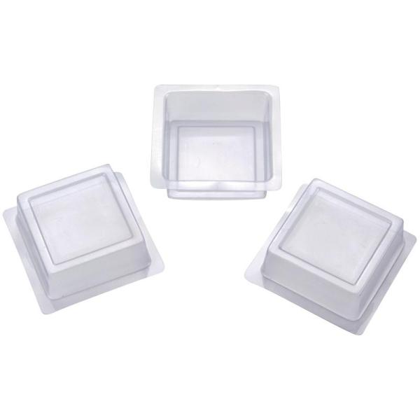 Moule à savons carré - 3 pièces - Photo n°1