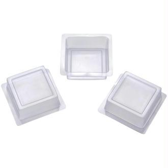 Moule à savons carré - 3 pièces