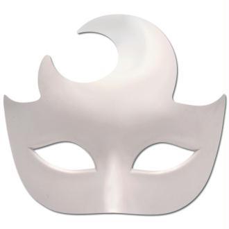 Masque de carnaval plastique Demi-lune 16 cm