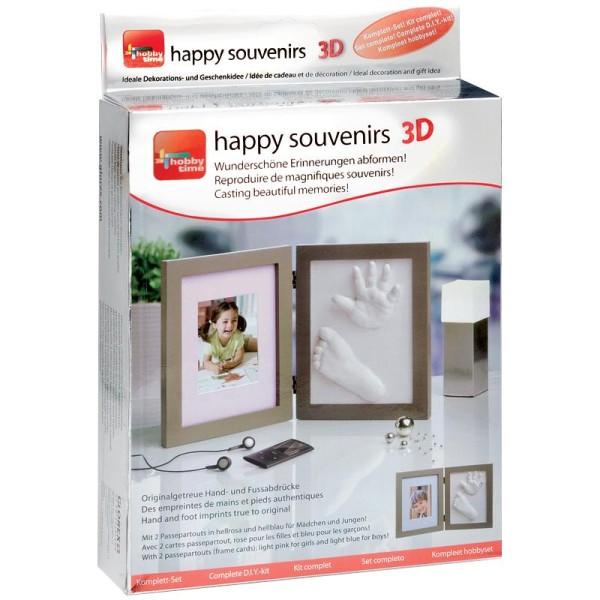Kit empreinte bébé Souvenir 3D - Photo n°1
