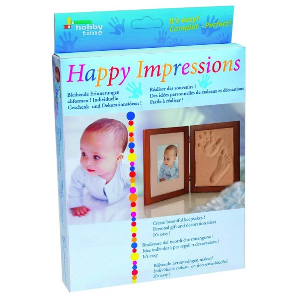 Kit empreinte bébé Plâtre Happy Impressions - Photo n°1