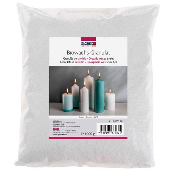 Cire en granulés bio 1kg - Photo n°1