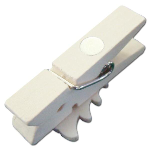 Pince à linge magnétique 3,5 cm Père Noël x 6 - Photo n°2