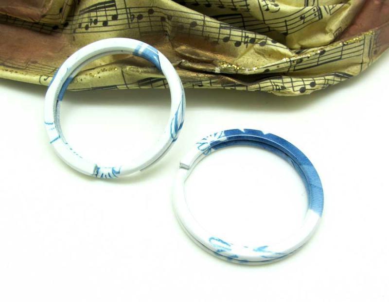 1 anneau double porte cl 30 mm bleu et blanc 30 - Porte double battant bois ...