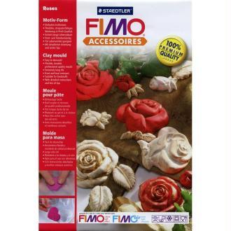 Moule pour FIMO Roses x 7