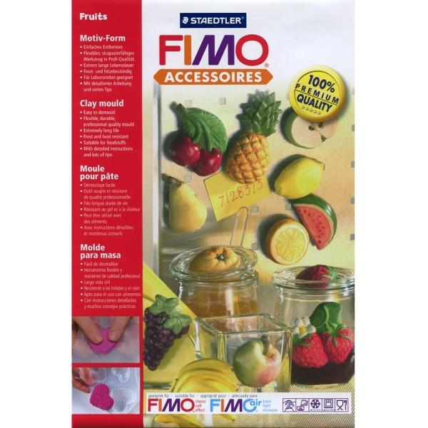 Moule pour FIMO Fruits x 14 - Photo n°1