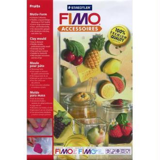 Moule pour FIMO Fruits x 14