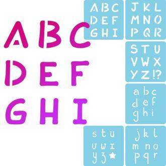 Pochoir enfant Alphabet - Set de 6