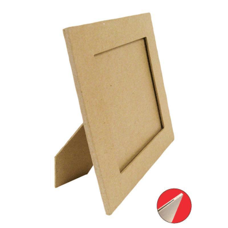 cadre carr avec pied 20x20cm cadre photo d corer creavea. Black Bedroom Furniture Sets. Home Design Ideas
