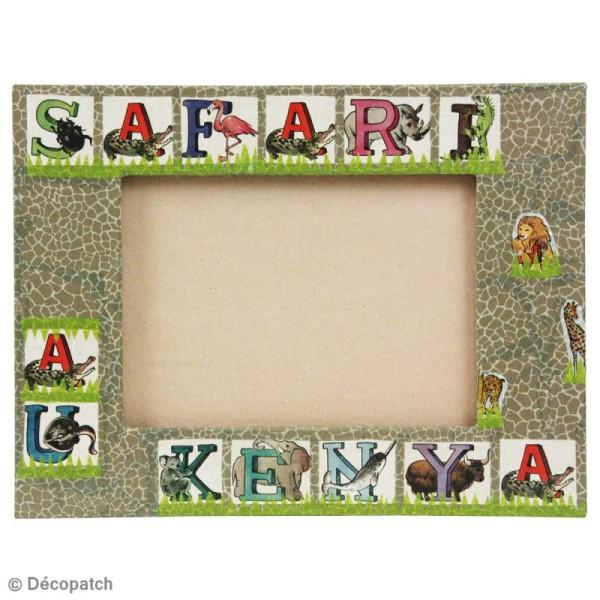 Cadre carré avec pied 20x20cm - Photo n°2