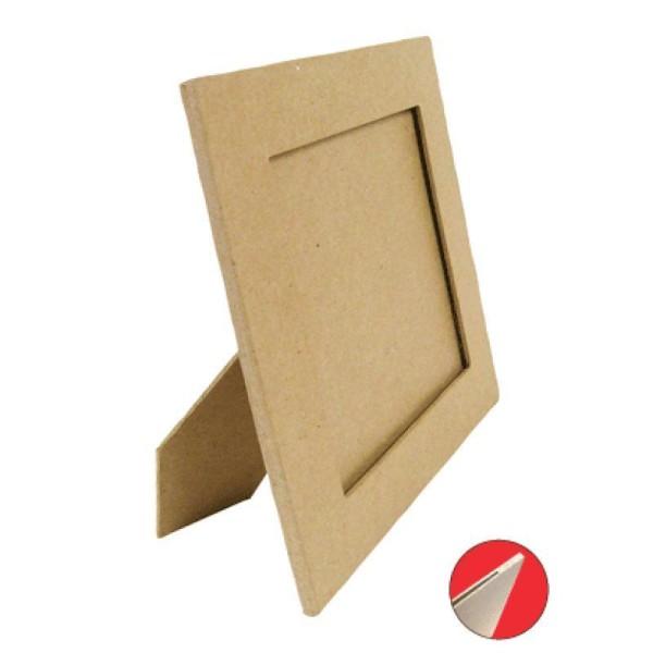 Cadre carré avec pied 20x20cm - Photo n°1