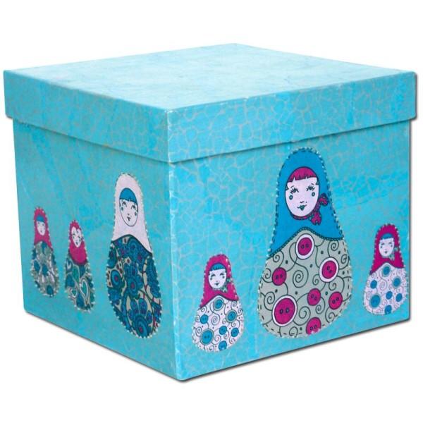 Décopatch Bleu Violet 537 - 1 feuille - Photo n°3