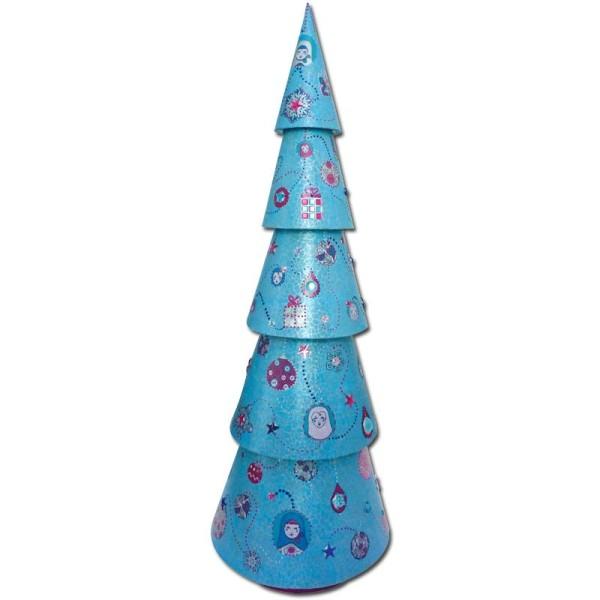 Décopatch Bleu Violet 537 - 1 feuille - Photo n°4