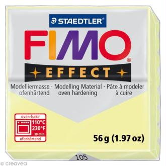 Fimo Effect Jaune Pastel 105 - 56 gr