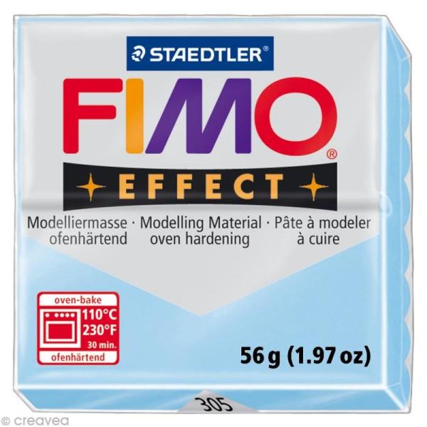 Pâte Fimo Effect Bleu Pastel 305 - 56 gr - Photo n°1