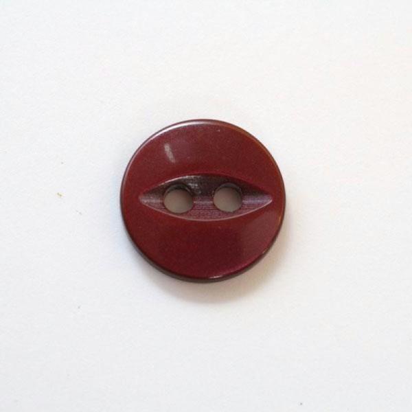 Oeil de Poisson Mercerie Couture Bouton Polyestre 2 trous 11mm