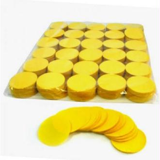 Confettis Papier Ronds Jaunes 4 cm (1 kg)