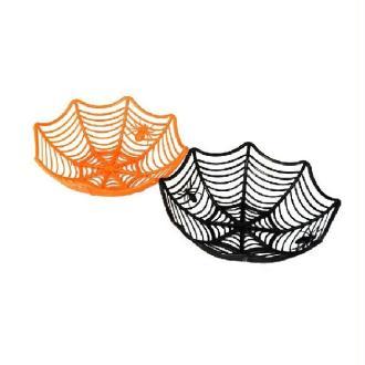 1 Panier à bonbons toile d'araignée 26 x 11 cm
