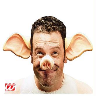 Nez de cochon avec élastique