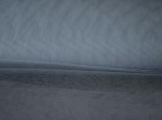 Tissu Tulle Souple Gris Souris Largeur 300cms au mètre