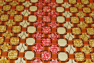 Tissu Wax 139 100% Coton au mètre