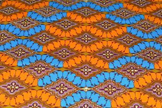 Tissu Wax 109 100% Coton au mètre
