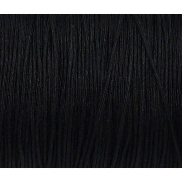 10m Fil De Jade 0,8mm De Couleur Noir - Idéal Noeud Coulissant - Wrap - Shamballa - Photo n°1