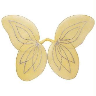 Ailes papillon jaunes