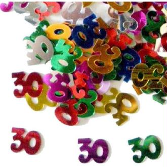 Sachet de confettis 30 multicolore 14 gr