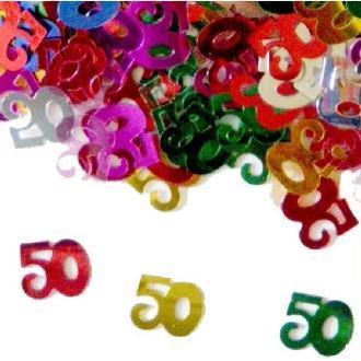 Sachet de confettis 50 multicolore 14 gr