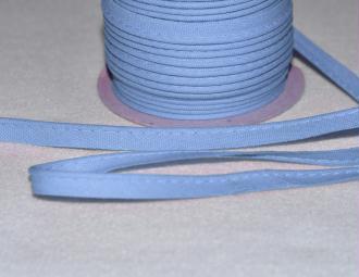 Passepoil Coton 10mm Bleu Ciel au mètre