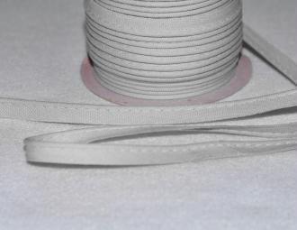 Passepoil Coton 10mm Gris Clair au mètre