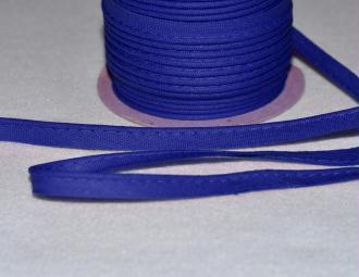 Passepoil Coton 10mm Bleu Royal au mètre
