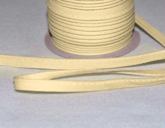 Passepoil Coton 10mm Ivoire au mètre