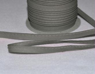 Passepoil Coton 10mm Gris au mètre