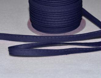 Passepoil Coton 10mm Bleu Marine au mètre