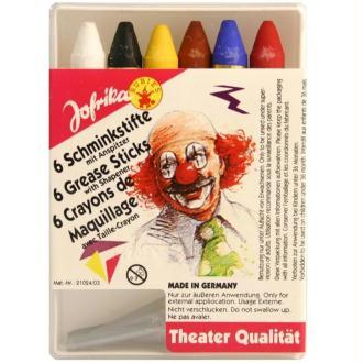 Mini crayons de maquillage x6
