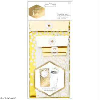 Pochettes cadeau à fil Docrafts - Modern Lustre - 6 pcs
