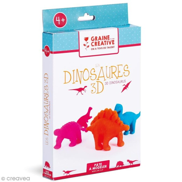 Kit Modelage - Dinosaures 3D - Photo n°1