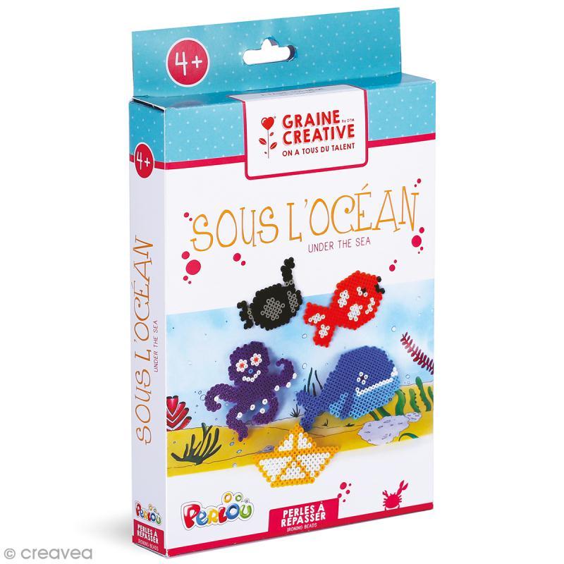 Kit Perles à repasser - Sous l'océan - Photo n°1